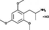 2,4,6-<wbr/>Trimethoxyamphetamine (hydro<wbr>chloride)