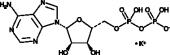 Adenosine 5'-diphos<wbr/>phate (potassium salt)
