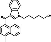 JWH 122 N-<wbr/>(5-<wbr/>hydroxypentyl) metabolite