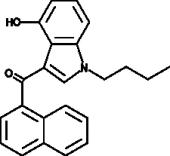 JWH 073 4-<wbr/>hydroxyindole metabolite