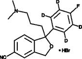 Citalopram-d<sub>4</sub> (hydro<wbr/>bromide)