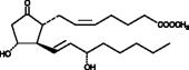 Prostaglandin E<sub>2</sub> methyl ester