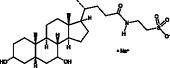 Taurocheno<wbr/>deoxycholic Acid (sodium salt)