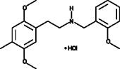 25D-<wbr/>NBOMe (hydro<wbr>chloride)