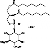 PtdIns-<wbr/>(3,4)-<wbr/>P<sub>2</sub> (1,2-<wbr/>dioctanoyl) (sodium salt)