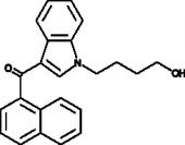 JWH 073 N-<wbr/>(4-<wbr/>hydroxybutyl) metabolite