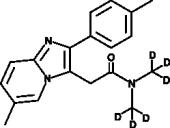 Zolpidem-<wbr/>d<sub>6</sub>