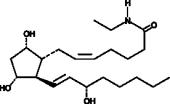 Prostaglandin F<sub>2α</sub> ethyl amide