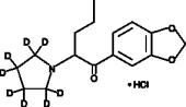 3,4-Methylene<wbr/>dioxy Pyrovalerone-<wbr/>d<sub>8</sub> (hydro<wbr>chloride)