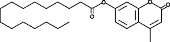 4-<wbr/>Methylumbelliferyl Palmitate