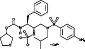Fosamprenavir (calcium salt)