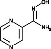 Pyrazine-<wbr/>2-<wbr/>amidoxime