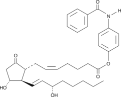 Prostaglandin E<sub>2</sub> <em>p-<wbr/></em>benzamidophenyl ester
