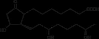 13,14-<wbr/>dihydro-<wbr/>19(R)-<wbr/>hydroxy Prostaglandin E<sub>1</sub>