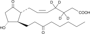 13,14-<wbr/>dihydro-<wbr/>15-<wbr/>keto Prostaglandin E<sub>2</sub>-<wbr/>d<sub>4</sub>