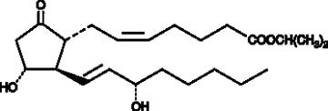 Prostaglandin E<sub>2</sub> isopropyl ester
