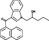(±)-<wbr/>JWH 018 N-<wbr/>(2-<wbr/>hydroxypentyl) metabolite