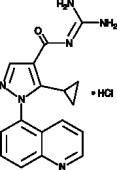 Zoniporide (hydro<wbr>chloride)