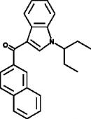 JWH 018 2'-<wbr/>naphthyl-<wbr/>N-<wbr/>(1-<wbr/>ethylpropyl) isomer