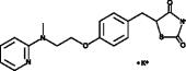 Rosiglitazone (potassium salt)