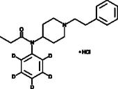 Fentanyl-<wbr/>d<sub>5</sub> (hydro<wbr>chloride)