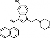 JWH 200 5-<wbr/>hydroxyindole metabolite
