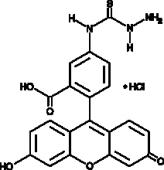 Fluorescein-<wbr/>5-thio<wbr/>semi<wbr/>carbazide (hydro<wbr/>chloride)