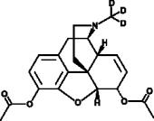 Heroin-<wbr/>d<sub>3</sub>