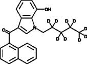 JWH 018 7-<wbr/>hydroxyindole metabolite-<wbr/>d<sub>9</sub>