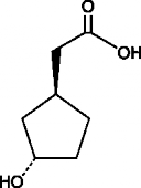 (1S,3S)-<wbr/>3-<wbr/>Hydroxycyclopentane acetic acid
