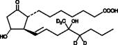 Misoprostol (free acid)-<wbr/>d<sub>5</sub>