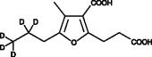 CMPF-<wbr/>d<sub>5</sub>