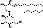 1-β-D-<wbr/>Glucosyl<wbr/>sphingosine (d18:1)