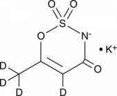 Acesulfame-d<sub>4</sub> (potassium salt)