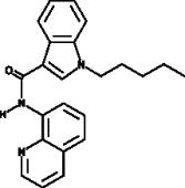 JWH 018 8-<wbr/>quinolinyl carboxamide