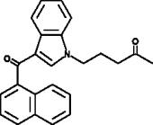 JWH 018 N-<wbr/>(4-<wbr/>oxo-<wbr/>pentyl) metabolite