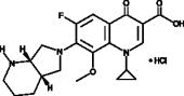 Moxifloxacin (hydro<wbr>chloride)