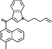 JWH 122 N-<wbr/>(4-<wbr/>pentenyl) analog