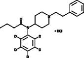 Butyryl fentanyl-<wbr/>d<sub>5</sub> (hydrochloride) (CRM)
