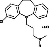 N-Desmethyl<wbr/>clomipramine (hydro<wbr/>chloride)