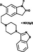 Ziprasidone (hydro<wbr/>chloride hydrate)