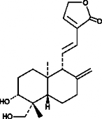 14-<wbr/>deoxy-<wbr/>11,12-<wbr/>didehydro Andro<wbr/>grapholide