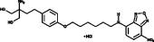 NBD-<wbr/>FTY720 phenoxy (hydro<wbr>chloride)
