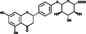 Naringenin-<wbr/>4'-<wbr/>O-<wbr/>β-<wbr/>D-<wbr/>Glucuronide