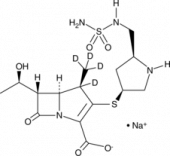Doripenem-d<sub>4</sub> (sodium salt)