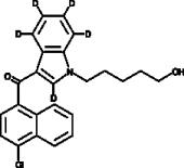 JWH 398 N-<wbr/>(5-<wbr/>hydroxypentyl) metabolite-<wbr/>d<sub>5</sub>