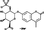 4-Methyl<wbr/>umbelliferyl-<wbr/>α-L-Iduronide 2-sulfate (sodium salt)