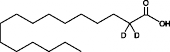 Palmitic Acid-<wbr/>d<sub>2</sub>