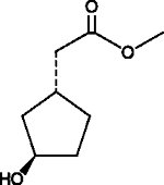 (1R,3R)-<wbr/>3-<wbr/>Hydroxycyclopentane acetic acid methyl ester