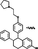 Lasofoxifene (tartrate)